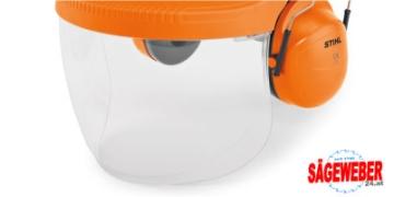PVC-Visier zu Gesichts- und Gehörschutz G500